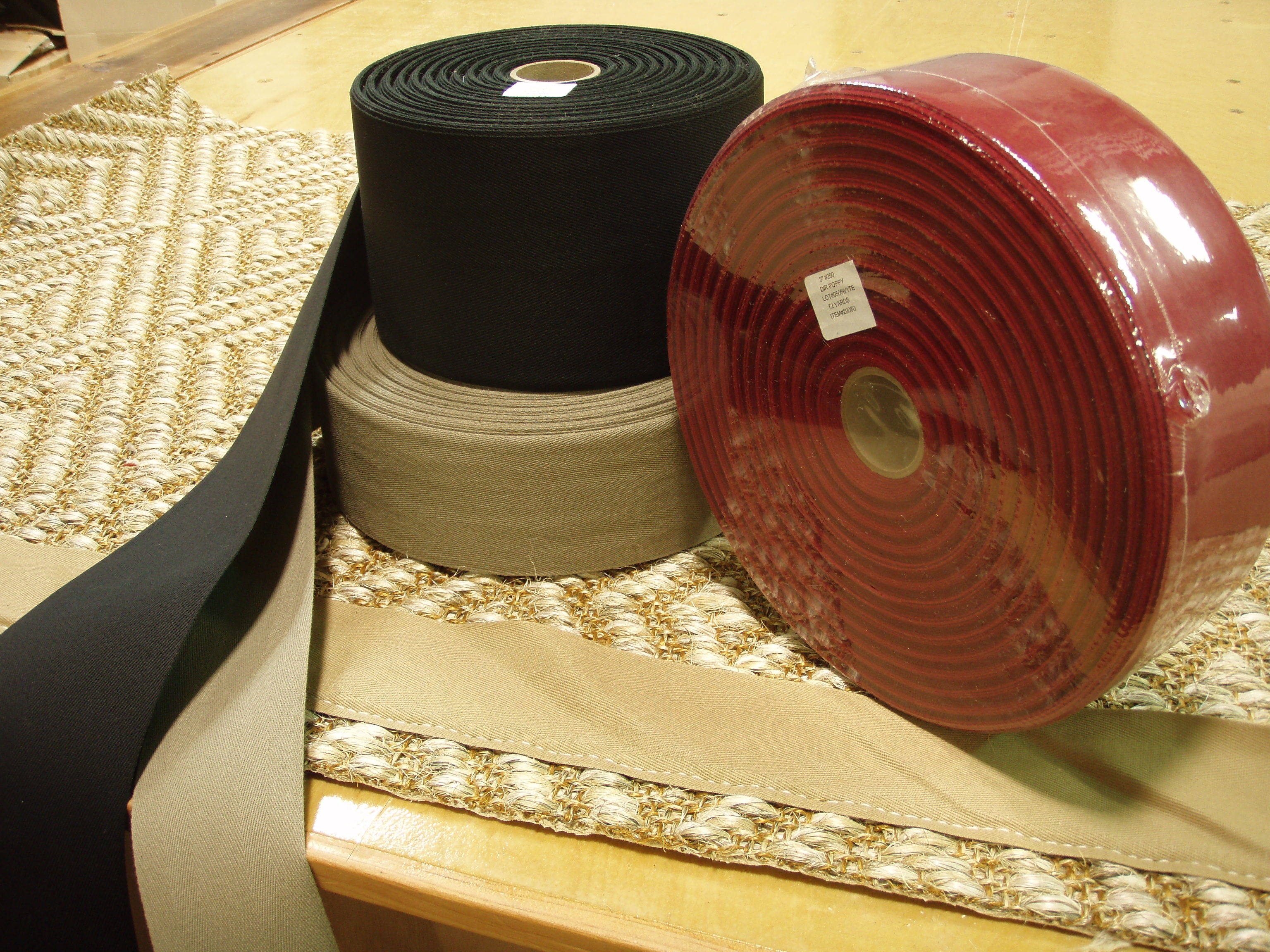 3 Quot Amp 5 Quot Cotton Sisal Binding Tape Bond Products Inc
